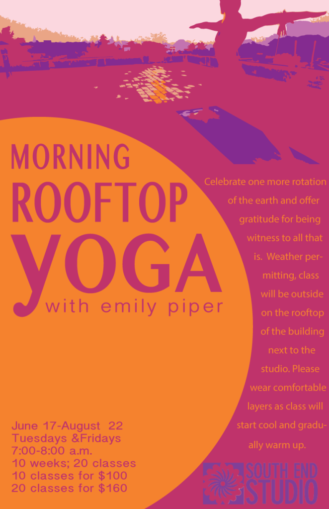 South End Studio Rooftop Yoga