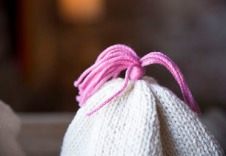 Maggie Pace's knit baby hat for beginners 2